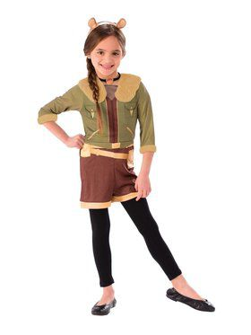 Squirrel Girl Dress Up Costume Set