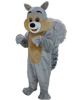 Squirrel Mascot Adult's Mascot Costume