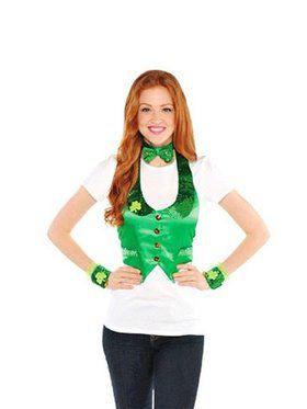 St. Paddy's Day Ladies Leprechaun Vest
