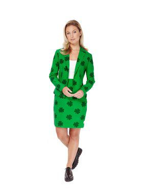 St. Patrick?s Girl Womens Opposuit for Halloween
