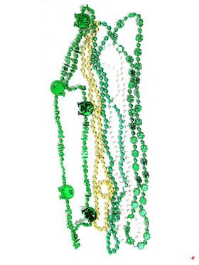 St. Patrick's Day Beads (Pack of 5) for Halloween