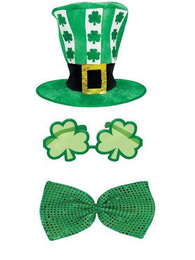 St. Patrick's Day Hat and Tie Bundle
