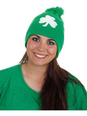 St. Patrick's Day Knit Hat