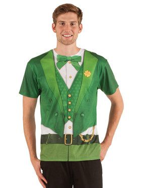 Adult St. Patrick's Day Leprechaun Shirt For Adults