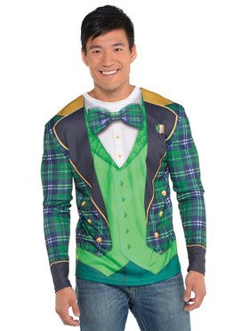 St. Patrick's Day Long Sleeve Top For Men