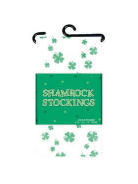 St Patrick's Day Shamrock Stockings