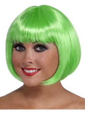 St. Patrick's Day Short Green Wig