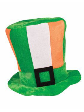St. Patrick's Day Tall Irish Flag Hat