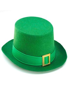 Adult Green Hat with Buckle