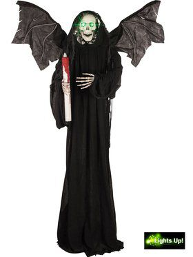 Standing Grim Reaper with Candle Prop