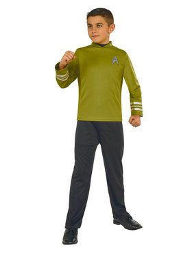 Star Trek Beyond Kirk Boy's Costume