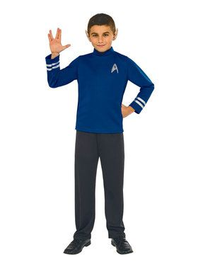 Star Trek Beyond: Spock Kid's Boy's Classic Child Costume