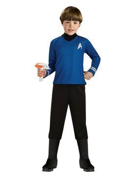 Star Trek Child's Vulcan Spock Deluxe Costume
