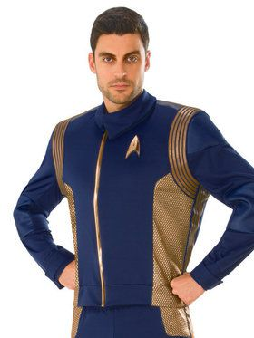 Star Trek Discovery Copper Operations Uniform for Men