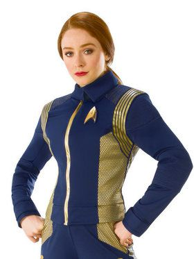 Star Trek Discovery Gold Command Uniform for Women