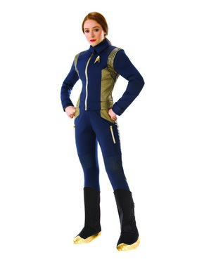 Star Trek Discovery Women's Adult Grand Heritage Command Uniform