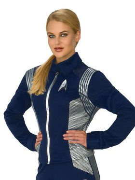 Star Trek Discovery Silver Science Uniform for Women