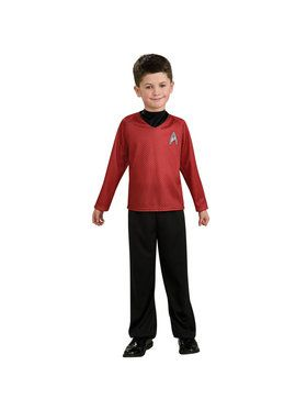 Child Star Trek Red Costume
