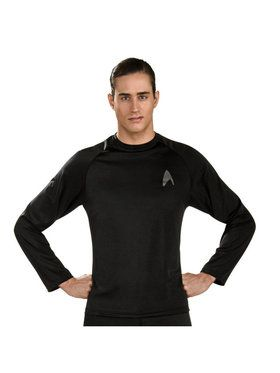 Star Trek Movie Shirt Black Mens Costume