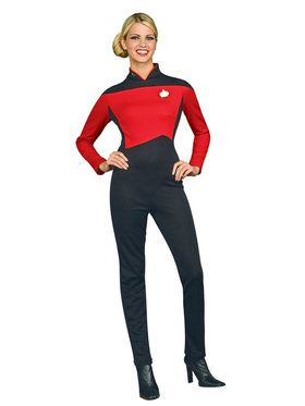 Deluxe Star Trek Womens Commander Costume