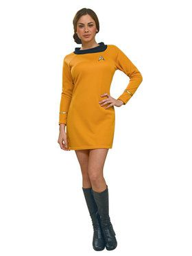 Star Trek Deluxe Womens Commander Uniform Costume