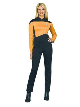 Womens Deluxe Operations Uniform Costume