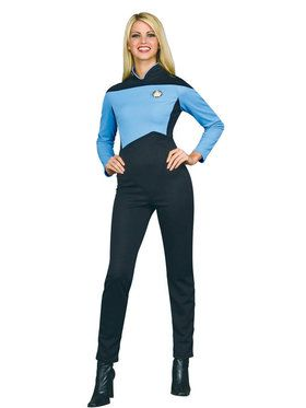 Deluxe Star Trek Womens Science Costume