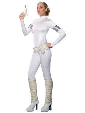 Star Wars Amidala Jumpsuit Costume For Adults