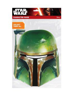 Boba Fett Star Wars Face Mask
