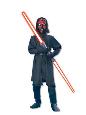 Star Wars Classic Kid's Deluxe Darth Maul Costume