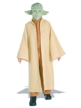 Kid's Deluxe Yoda Costume with Mask
