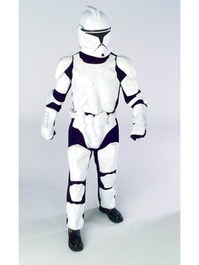 Star Wars Boys Dlx Clone Trooper Costume