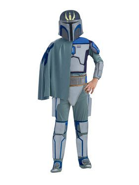 Star Wars The Clone Wars Kid's Deluxe Pre Vizsla Costume