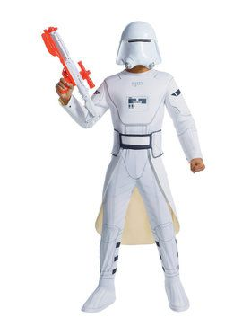 Star Wars Snowtrooper Boys Deluxe Costume