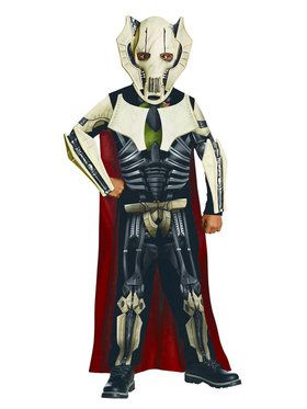 Classic Star Wars Deluxe General Grievous Kids Costume