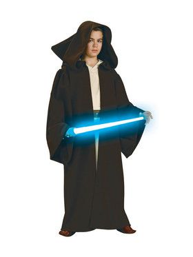 Kid's Deluxe Jedi Knight Robe with Hood