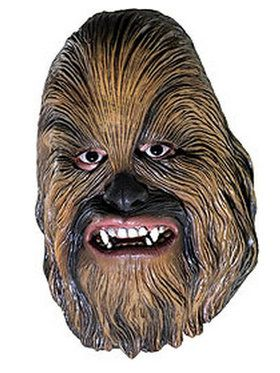 Childrens Chewbacca 3/4Vinyl Mask