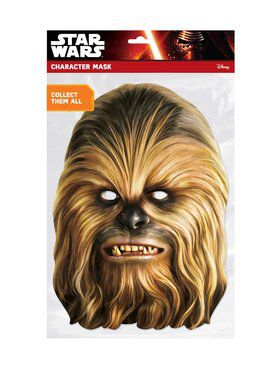 Chewbacca Star Wars Face Mask