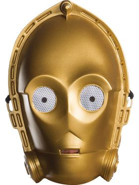 Star Wars: Classic Ben Cooper C-3PO Mask for Adults