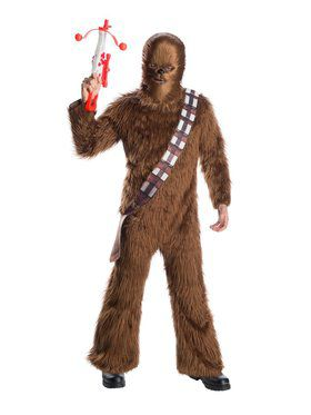 Deluxe Star Wars Classic Chewbacca Costume for Adults