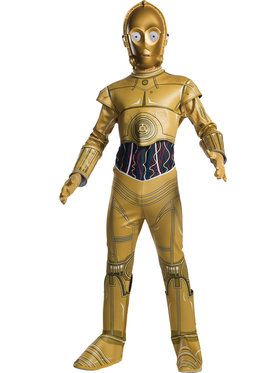 Star Wars: Classic C-3PO Costume for Children