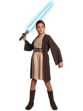 Star Wars Deluxe Classic Jedi Hooded Dress Costume