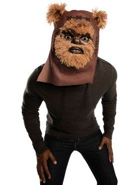 Star Wars Classic Ewok Furry Mask Accessory