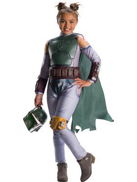 Star Wars: Classic Boba Fett Costume for Girls