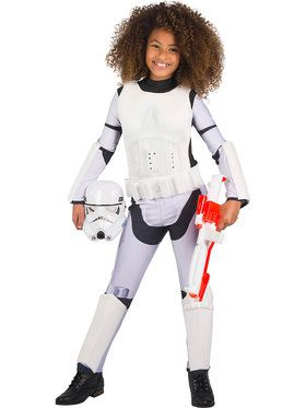 Star Wars: Classic Stormtrooper Costume for Girls