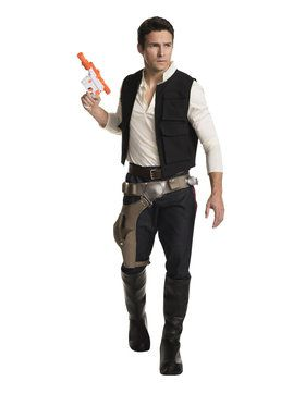 Star War's Classic Han Solo Grand Heritage Men's Costume