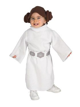 Classic Princess Leia Star Wars Costume for Infant/Toddler