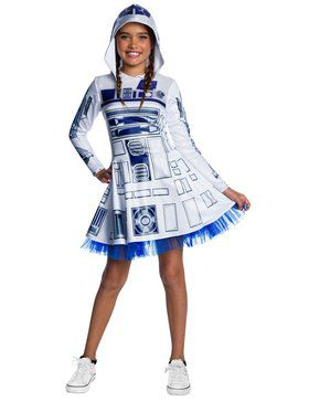 Classic Star Wars R2 D2 Dress Costume