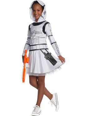 Classic Star Wars Stormtrooper Dress Costume