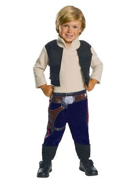 Star Wars: Classic Han Solo Costume for Toddlers